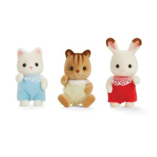 Calico Critters- Twins and Triplets